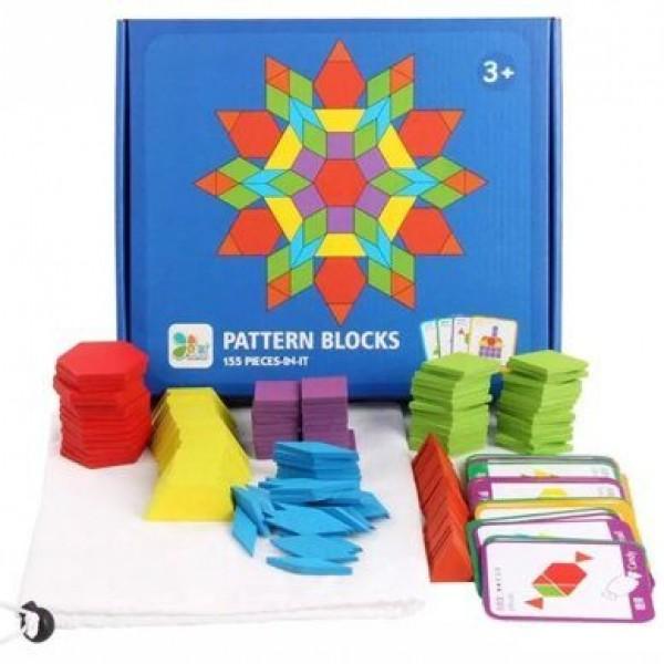 "Деревянная игра Мозаика ""Pattern Blocks"""